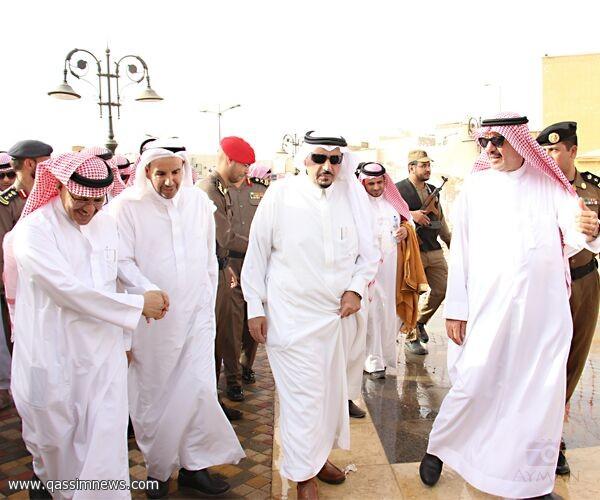 الأمير فيصل بن مشعل: أمانة القصيم حققت نقلة نوعية في مشروع تطوير وسط بريدة