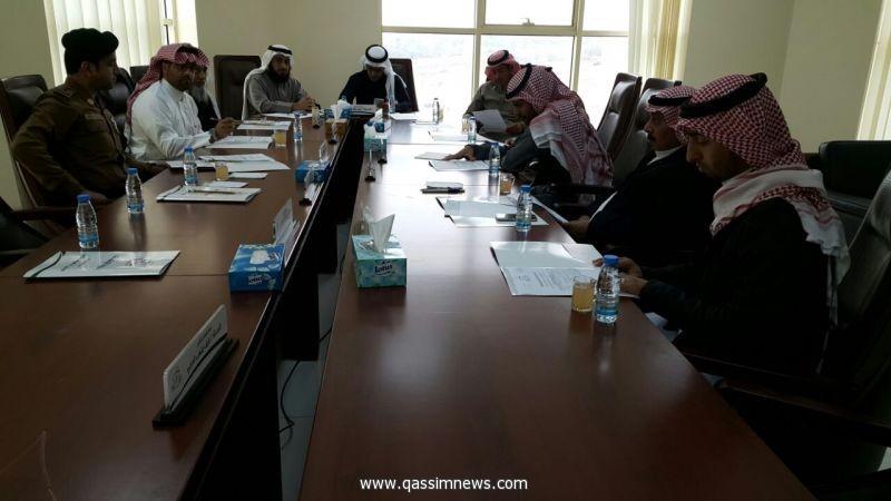 بلدي رياض الخبراء يرحب بسعادة رئيس البلدية المعين حديثا ويناقش الأمن والسلامة