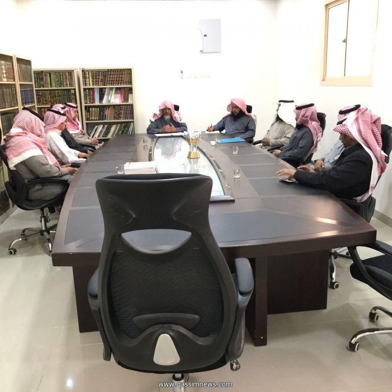 مدير إدارة المساجد والدعوة والإرشادبالفوارة يعقد أجتماعا مع مراقبي المساجد