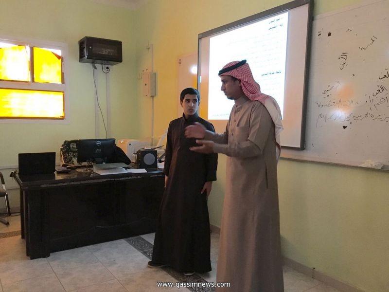 """أكثر من 20 طالباً في دورة  """"فن الالقاءالمميز"""" بمتوسط الإمام تركي بن عبدالله ببريدة"""
