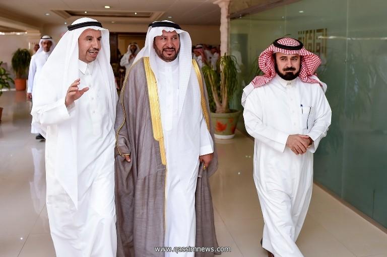 م.الدوسري يباشر عمله أميناً لمنطقة القصيم