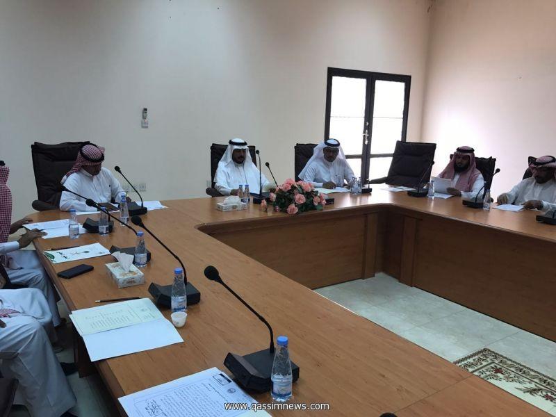 ترأسها المحافظ ((لجنة أصدقاء البيئة بمحافظة عيون الجواء تعقد اجتماعها الأول