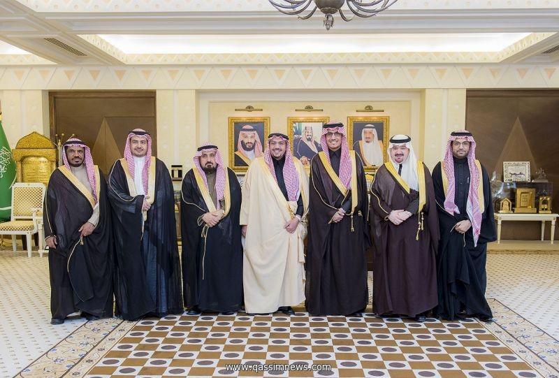 أمير القصيم يستقبل محافظ الهيئة العامة للزكاة والدخل