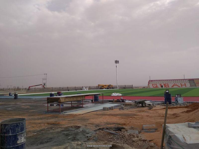 بلدية قبة تفتح الملعب الجديد الذي يتسع ل 2000 مقعد