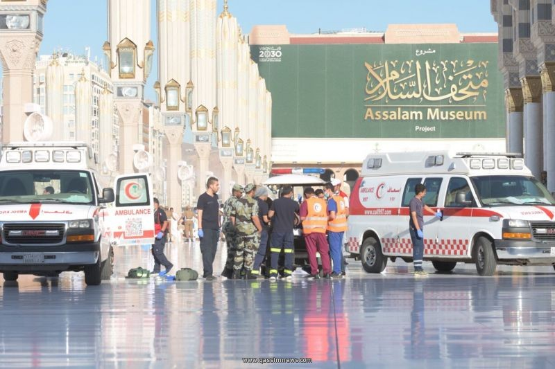 الهلال الأحمر: 870 متطوعا ومتطوعة يشاركون مع الفرق الإسعافية بالمدينة المنورة خلال موسم الحج