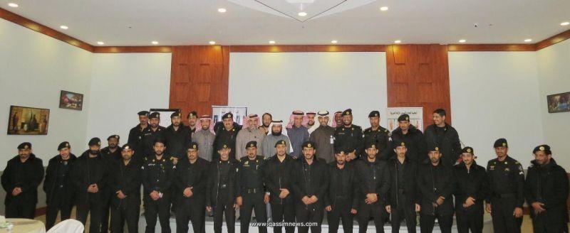 غرفة الرس تنظم دورات تدريبية لمنتسبي الدوريات الأمنية بالمحافظة