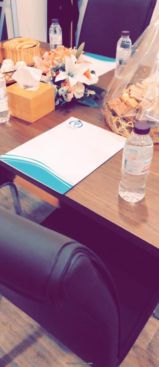 إجتماع عضوات الجمعية السعودية للجودة بالقصيم في مقرها الجديد