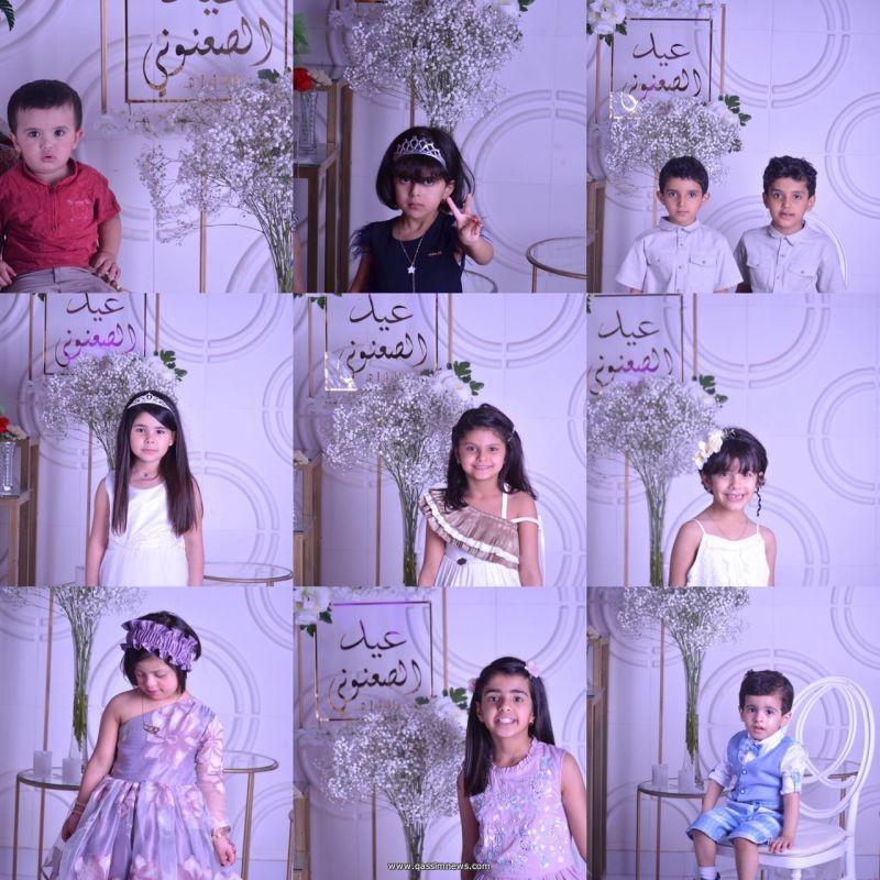 أسرة الصعنوني تحتفل بالعيد