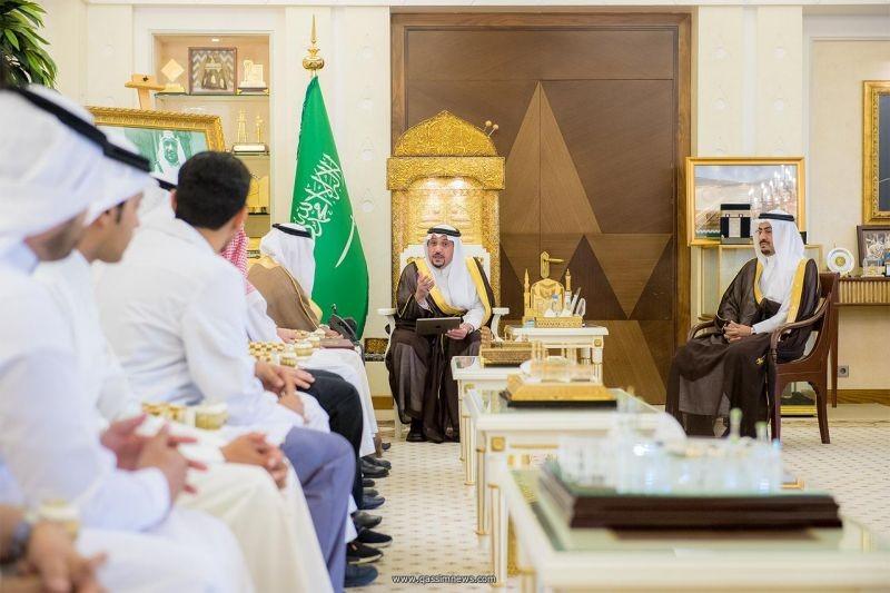 أمير القصيم يشهد توقيع مذكرة بين مجلس شباب المنطقة وجمعية المسعف التطوعية