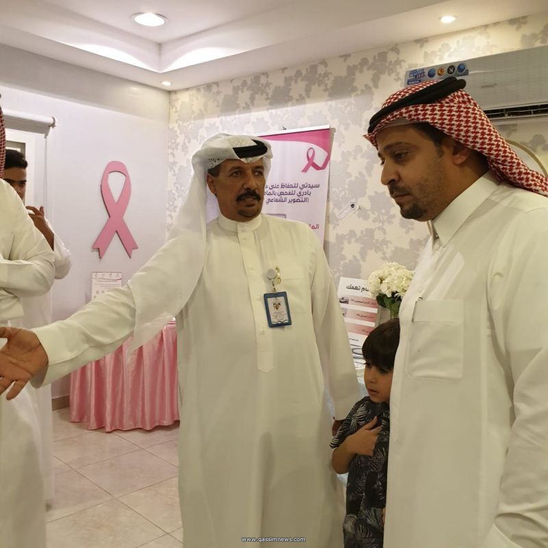 الصحة العامة بعنيزة تشارك بعيادة متكاملة في مهرجان الفلايح