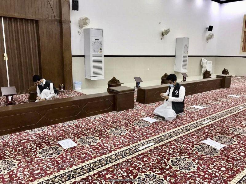 «نبها التطوعي» يشارك في حملة لتنظيف المساجد بعنوان «مساجدنا عامرة»