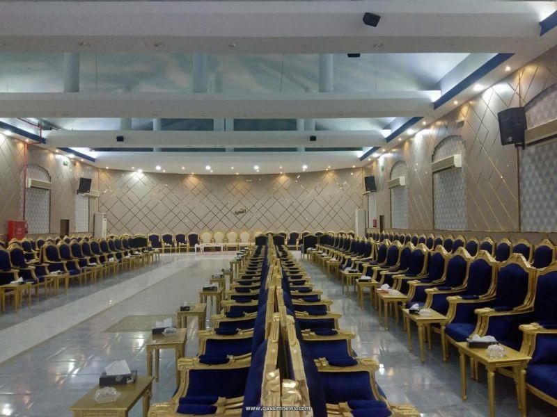 بريدة : قصر أفراح بعروض خاصة وعرض لـ 50 شخصا