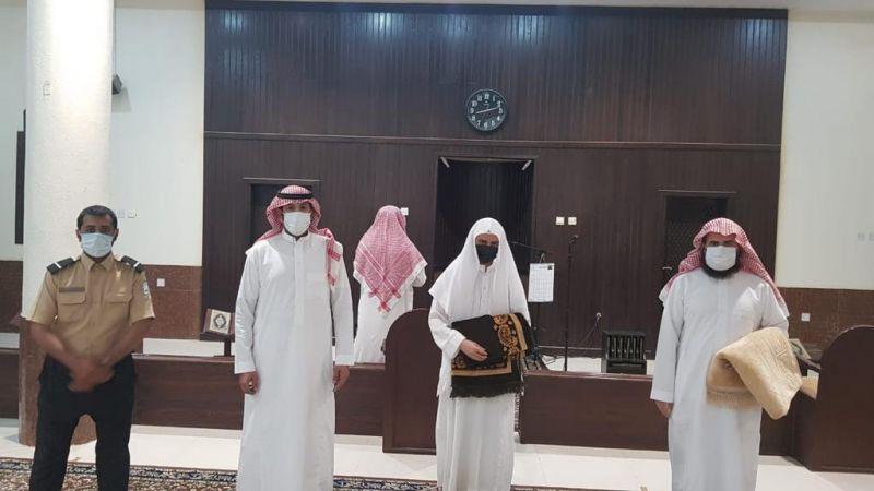 إدارة مساجد البكيرية تقوم بجولات رقابية لمتابعة تطبيق الإجراءات الاحترازية