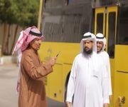 طلاب ثانوية الملك عبد العزيز في زيارة للشرطة الأمنية بمنطقة القصيم