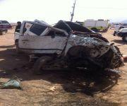 وفاة واصابة خمسة اشخاص بحادث سير غرب القصيم