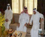 ولي ولي العهد يلتقي وزيري الداخلية والدفاع بدولة الكويت