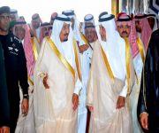 خادم الحرمين يصل جدة في أول زيارة لها بعد مبايعته ملكاً