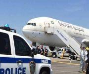 بلاغ كاذب يؤخر إنزال ركاب طائرة الخطوط السعودية في نيويورك