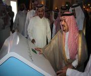 أمير الرياض يفتتح 20 حديقة جديدة إحداها تحوي مجسمات لأبرز معالم العالم