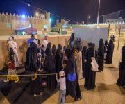 الأميرة سارة بنت جلوي تزور مهرجان حرفة الرمضاني الثالث