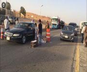 مدرسة مجمع الهلالية (بنات) تقوم بتوزيع وجبات إفطار الصائم على عابري الطريق