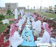 الدكتور الشايع يشارك منسوبي ونزلاء  الصحة النفسية إفطارهم السنوي