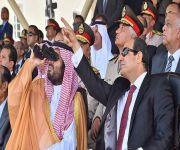 ولي ولي العهد يشهد حفل تخريج الكليات والمعاهد العسكرية المصرية
