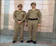 الزِّي العسكري الجديد لرجال أمن الحرمين الشريفين تمييزاً لهم