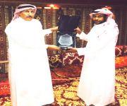 البكيرية : الجواس يحتفي بالاستاذ خالد الربيعان
