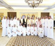 أمير القصيم يستقبل وكيل وزارة الصحة للموارد البشري