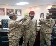 العايد إلى ملازم أول بالحرس الوطني