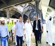 وزير النقل يوجه بتكثيف الاختبارات على عربات مشروع قطار الحرمين