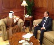 وزير الخارجية يستقبل السفير البريطاني لدى المملكة