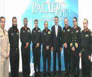 السفير آل صالح يلتقي وفد القوات البحرية في أستراليا