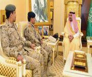 الأمير فيصل بن مشعل يستقبل قائد معهد طيران القوات البرية بمنطقة القصيم