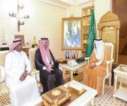 أمير القصيم يستقبل مدير الاتصالات السعودية بالمنطقة بمناسبة تعيينه