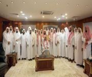 الرئيس العام لشؤون الحرمين يلتقي مؤذني المسجد الحرام