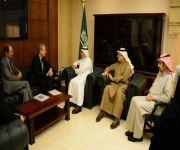الدكتور الربيعة يستقبل مدير الصندوق العالمي للإيدز والسل والملاريا