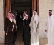 صاحب السمو الملكي الأمير سلطان بن سلمان يزور الشيخ إبراهيم بن عبدالعزيز الربدي