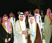 فيصل بن بندر يكرم البنك السعودي الفرنسي