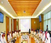 اللجنة المالية في مجلس الشورى تزور هيئة السوق المالية