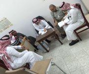 مدير الصيانة الطبية يزور مستشفى الاسياح ويلتقي بالمهندس الحري