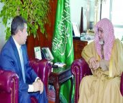 آل الشيخ يستقبل سفير كازاخستان
