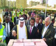 الشركة «السعودية المصرية للتعمير» تضع حجر الأساس لمشروع سكني جديد في القاهرة