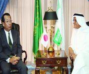 وزير الاتصالات يستقبل السفير الياباني