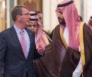 ولي ولي العهد ووزير الدفاع الأمريكي يناقشان تطورات الأوضاع في المنطقة