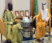 وزير الخارجية يستقبل عددا من السفراء