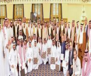 أمير القصيم  يكرم المشاركين في ملتقى التراث العمراني الوطني