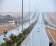 توقعات بهطول أمطار رعدية على معظم مناطق المملكة