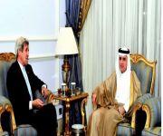الجبير يبحث وكيري العلاقات الثنائية ومستجدات الساحة السورية